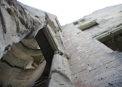 1er coup de truelle au Château d'Illens