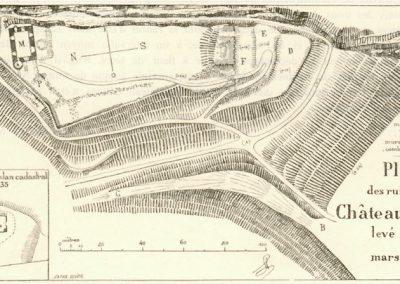 Plan du Château d'Illens, 1897