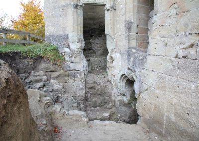 Entrée extérieure du Château d'Illens