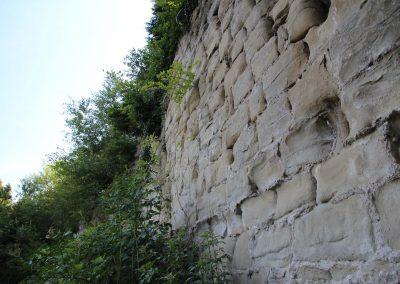 Pan de murailles N.-O.