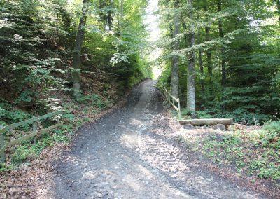 Route d'accès